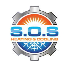 S.O.S. Heating & Cooling Logo